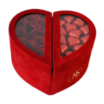 Chocolade Rozenbox rood Rosuz